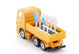 Vrachtwagen met verkeersborden (schaal 1:87)_