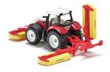 tractor met maaiers