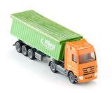vrachtwagen met afdekzeil