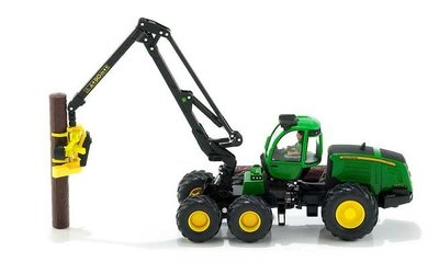 Siku John Deere 1470E bosbouw tractor (schaal 1:32)