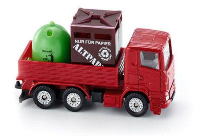 Recycling vrachtwagen (schaal 1:87)