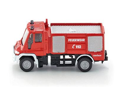 Siku Unimog brandweer (schaal 1:87)