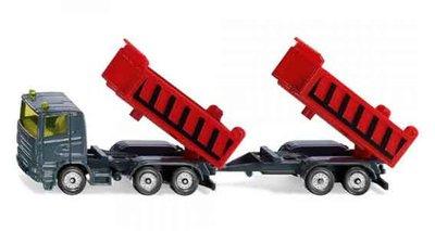 Siku Vrachtwagen met aanhanger