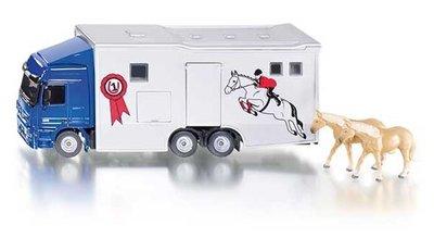 Paardenvrachtwagen (schaal 1:50)