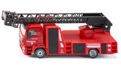 Siku MAN brandweer ladderwagen (schaal 1:50)