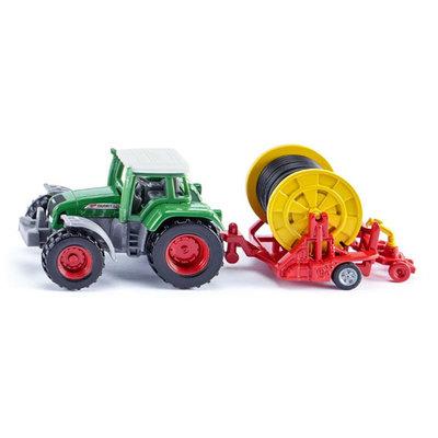 Siku Fendt tractor met beregeningshaspel en sproeier (schaal 1:87)