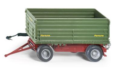 2-zijdig Kiepende Siku tipping trailer OP=OP