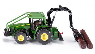 John Deere Bosbouw tractor (schaal 1:50)