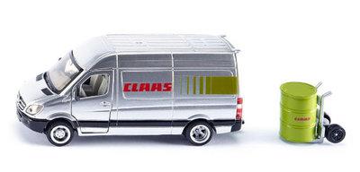 Siku Claas servicebus (schaal 1:50)