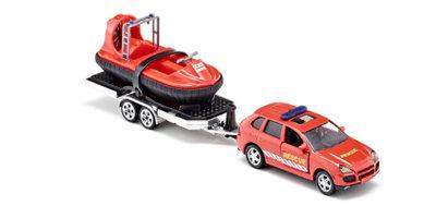 Siku rescue auto met hovercraft (schaal 1:55) OP=OP